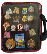 Load image into Gallery viewer, Pinfolio Show Backpack comes with 3 inserts Pins & Candy not included