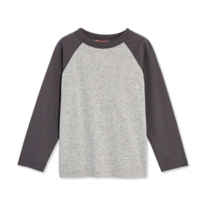 Toddler Boys' Long Sleeve Raglan Tee