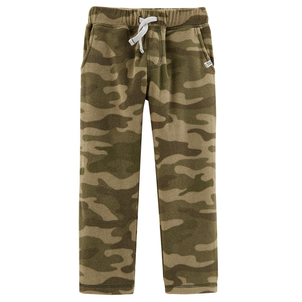 Toddler Boy Carter's Camouflaged Microfleece Pants