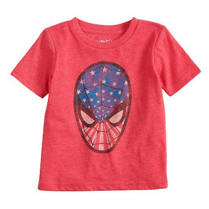 Baby Boy Jumping Beans® Marvel Spider-Man Patriotic Graphic Tee