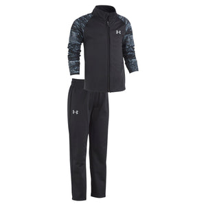 Toddler Boy Under Armour 2-pc. Zip Mock Neck Track Jacket & Pants Set