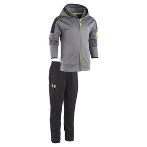 Toddler Boy Under Armour 2-pc. Zip Hoodie & Pants Set