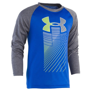 Toddler Boy Under Armour Logo Raglan Top