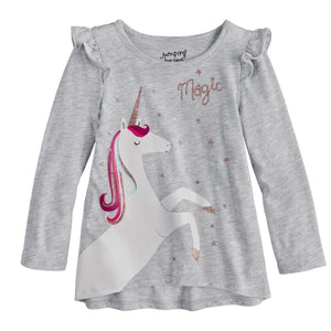 "Toddler Girl Jumping Beans® ""Magic"" Unicorn Graphic Tee"