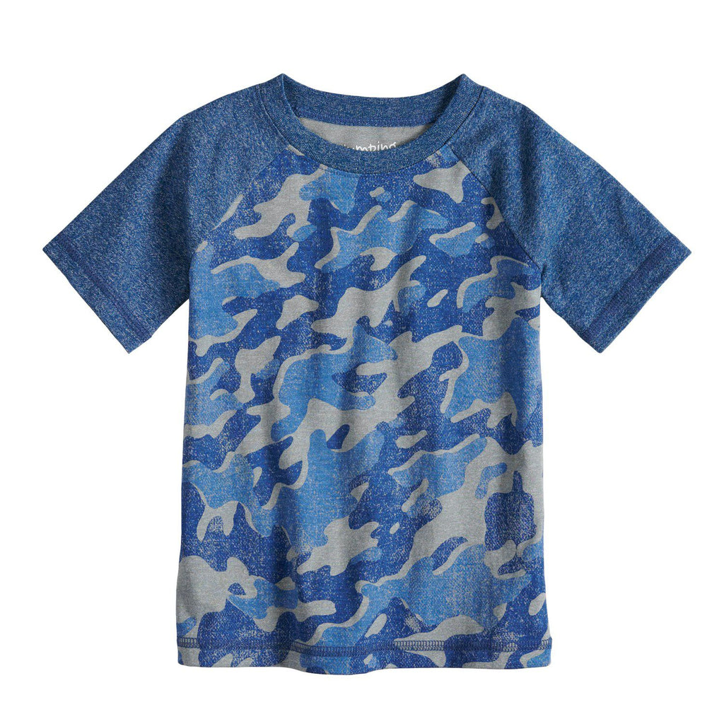 Toddler Boy Jumping Beans® Camouflaged Raglan Tee