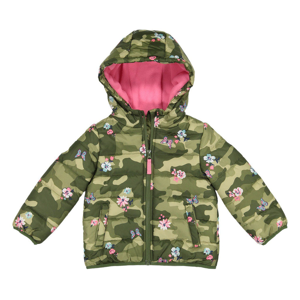 4dab03828a0a Toddler Girl Carter s Heavyweight Camo Floral Jacket – The Great ...