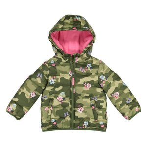 Toddler Girl Carter's Heavyweight Camo Floral Jacket