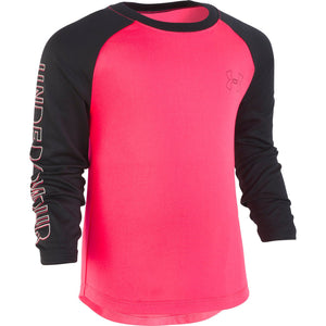 Toddler Girl Under Armour Colorblock Raglan Tee