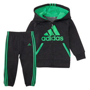 Toddler Boy adidas 2-pc. Mesh Hooded Zip Jacket & Pants Set