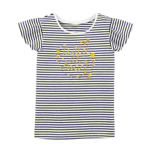 Toddler Girl Carter's Flutter Sleeve Graphic Tee