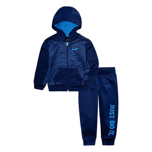 Toddler Boy Nike 2-Piece Therma Zip Logo Hoodie & Pants Set