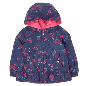 Toddler Girls Reversible Butterfly Jacket (2T-4T)