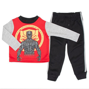 Toddler Boys Black Panther Sweatshirt & Joggers Set (2T-4T)