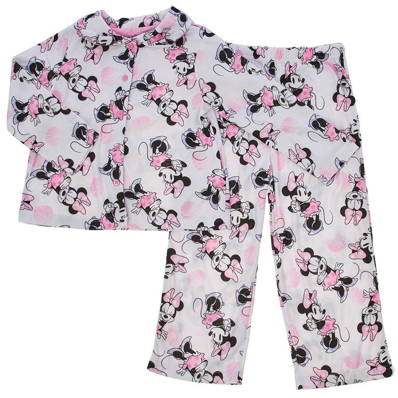 Toddler Girls Minnie Mouse Pajamas (2T-4T)