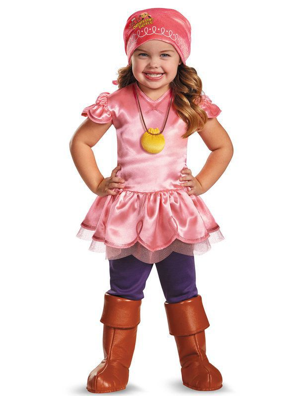 Jake and the Neverland Pirate Deluxe Toddler Izzy Costume