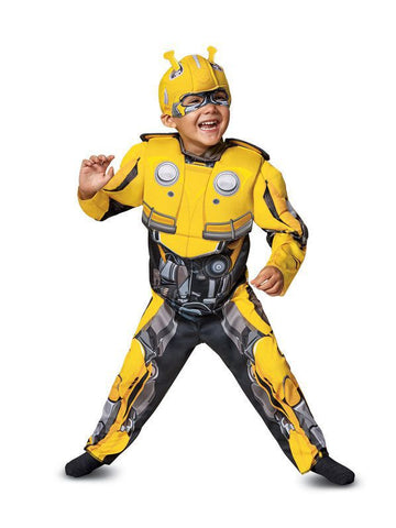 Transformers Bumblebee Movie: Bumblebee Muscle Costume for Toddlers