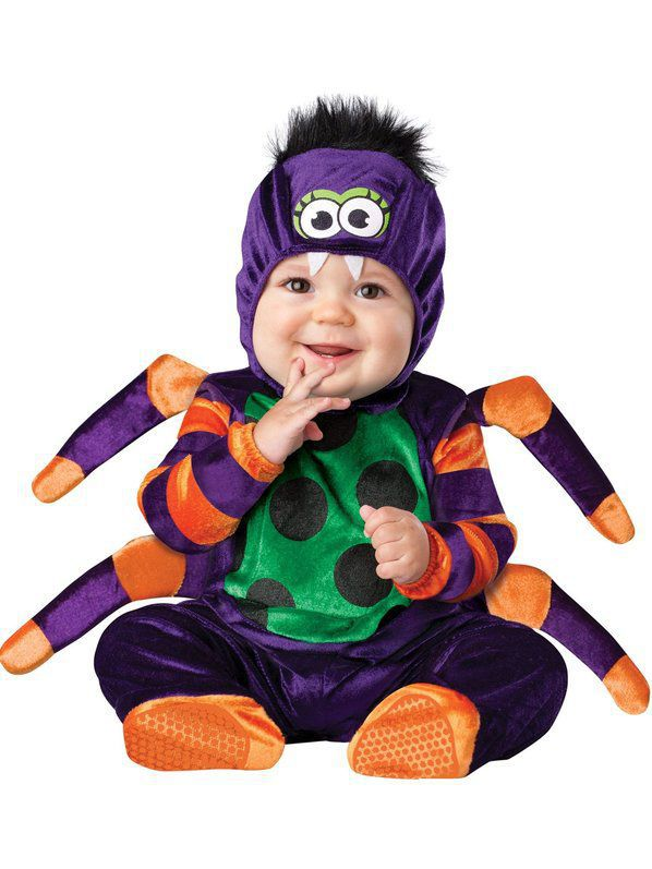 Boy's Itsy Bitsy Spider Toddler Costume