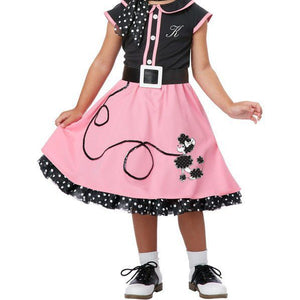Toddler's 50's Poodle Cutie Costume