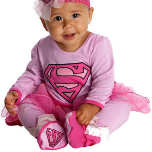 Toddler's Super Girl Infant Jumper Costume