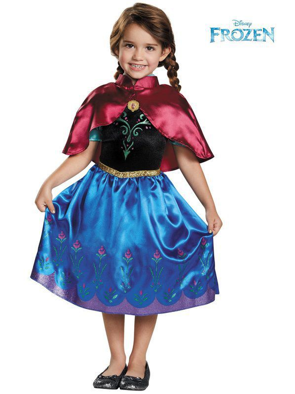 Toddler Anna Traveling Classic Costume