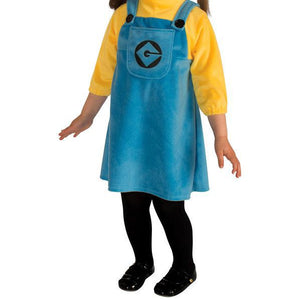 Toddler's Girl's Minion Costume