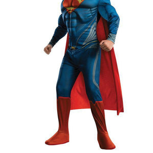 Man of Steel Boy's Deluxe Toddler Superman Costume