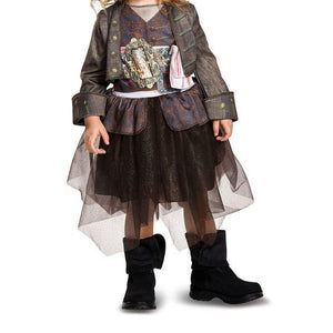 Toddler Pireates of the Caribbean 5: Captain Jack Inspired Tutu Costume