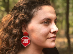 Haus of Dizzy #StopAdani Earrings