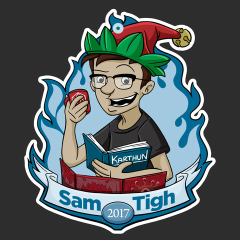 Sam Tigh 2017 Ornament