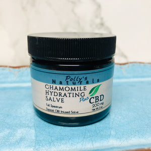 Chamomile 200 mg Salve, PLUS CBD