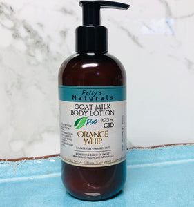 Goat Milk 100 mg Lotion, PLUS CBD