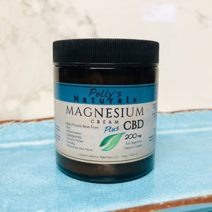 Magnesium PLUS, CBD Cream, Extra Strength