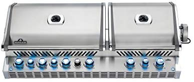 Built-In Natural Gas Grill with Infrared Rotisserie