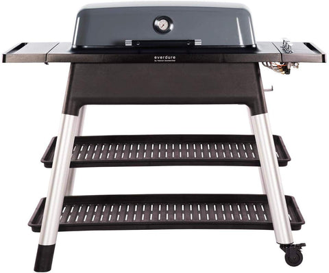 Freestanding Grill Propane, Graphite, 46.25-inches