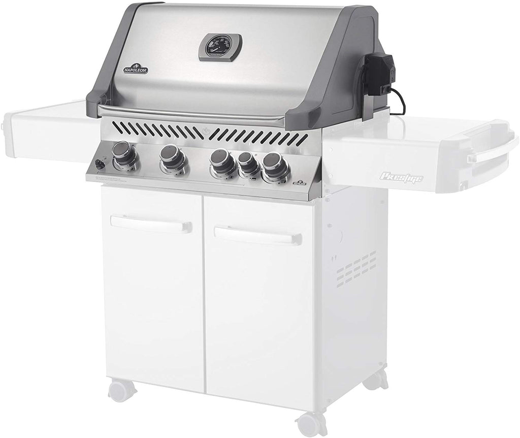 Built-in Prestige with Infrared Rear Burner Natural Gas Grill