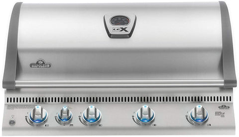 Built-In Grill with Infrared Rotisserie Propane Gas