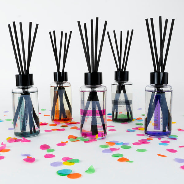 New 3 for 2 Coloured Reed Diffusers