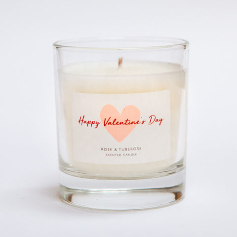 Valentines Candle