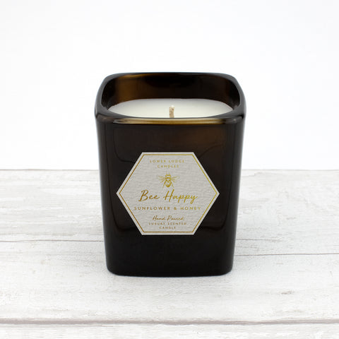 Bee Happy - Sunflower & Honey Scented Candle