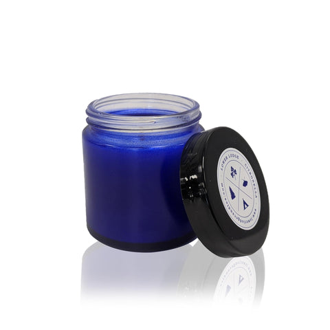 Small Citronella Blue Jar Candle