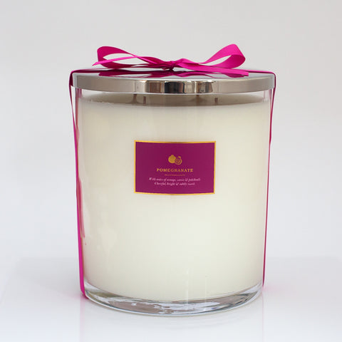 Large Pomegranate Scented Candle