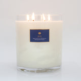large peony scented candle