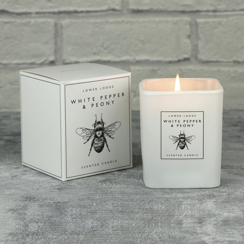 White Pepper Scented Candle