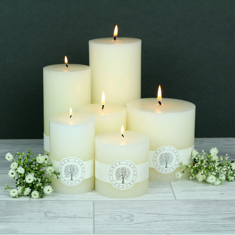 Deluxe Pillar Candle