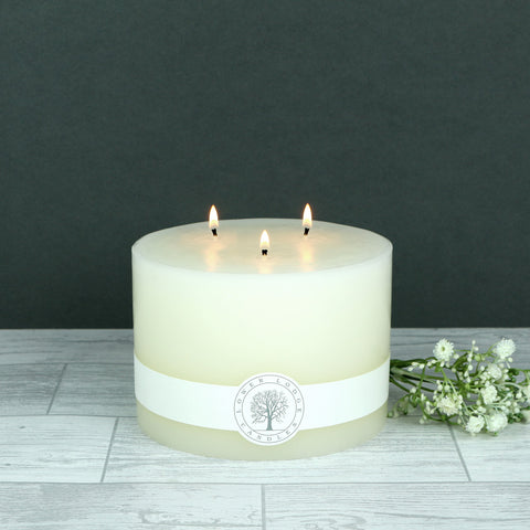 Multi wick pillar candle