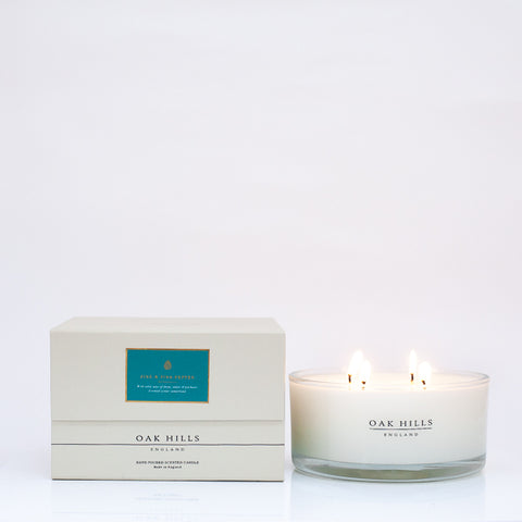 Pine & Pink Pepper Luxury Scented Candle