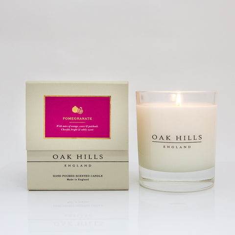 Pomegranate Home Scented Candle