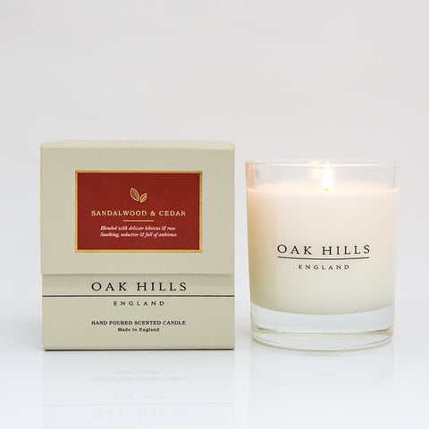 Sandalwood & Cedar Home Scented Candle