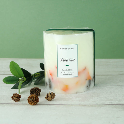 Winter Forest Small Botanical Candle