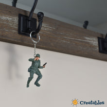 Load image into Gallery viewer, Army Man Keychains
